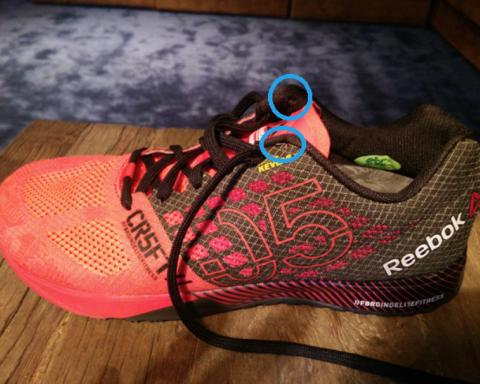 Como utilizar correctamente el último agujero de tus zapatillas de entrenamiento