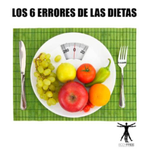 Los 6 errores de las dietas