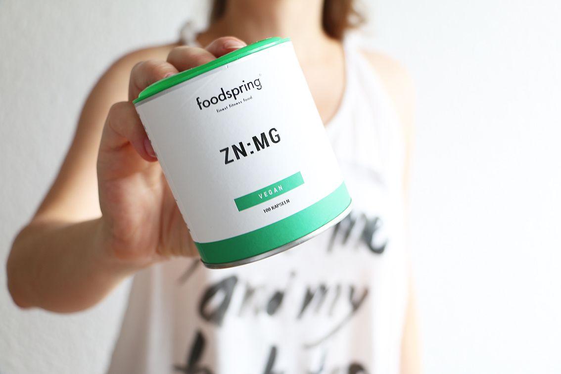 Se muestra un suplemento de zinc y magnesio