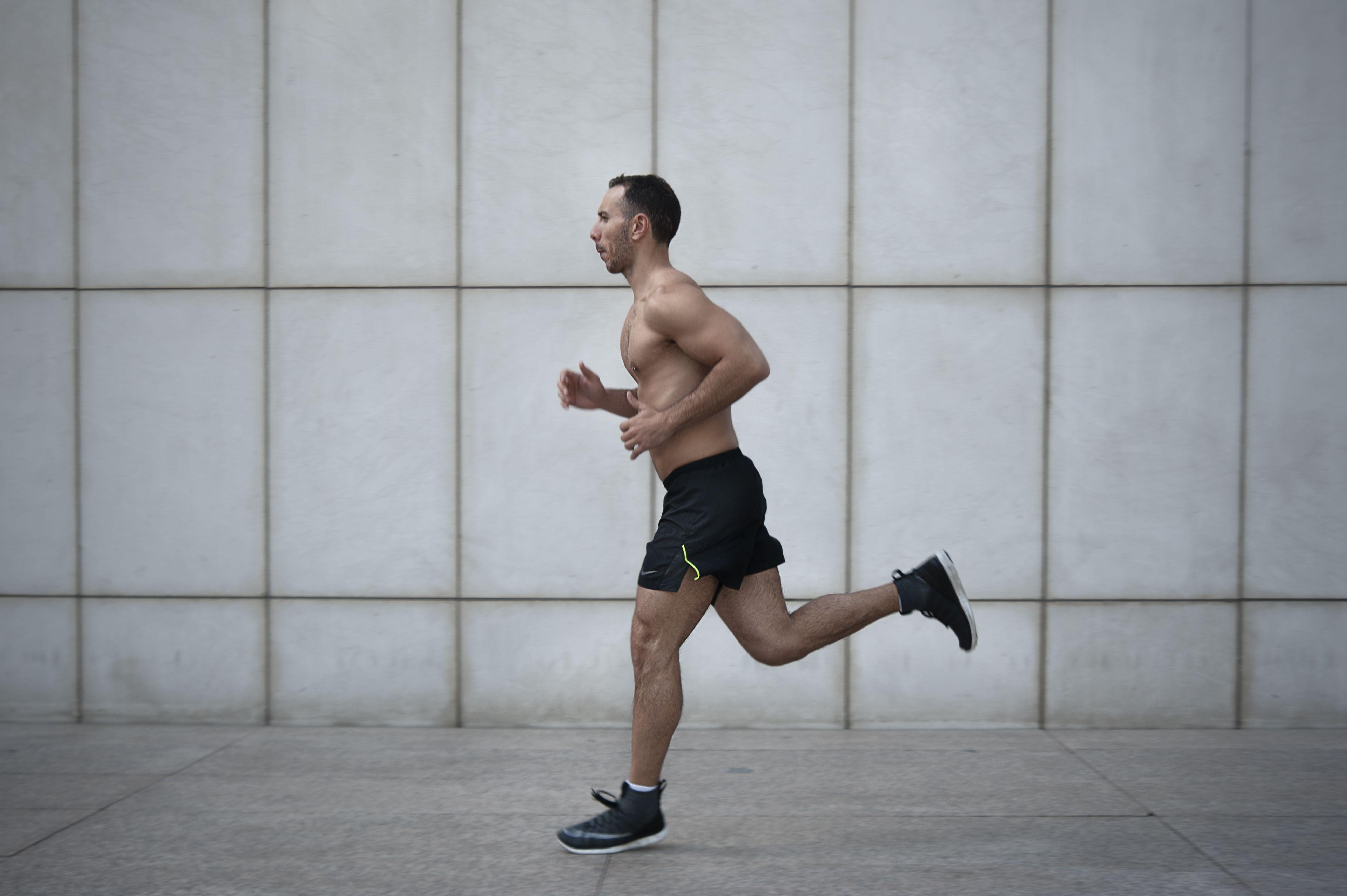 Fabri corriendo