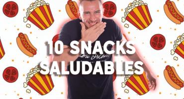 10 snacks saludables para cuando necesitas darte un capricho